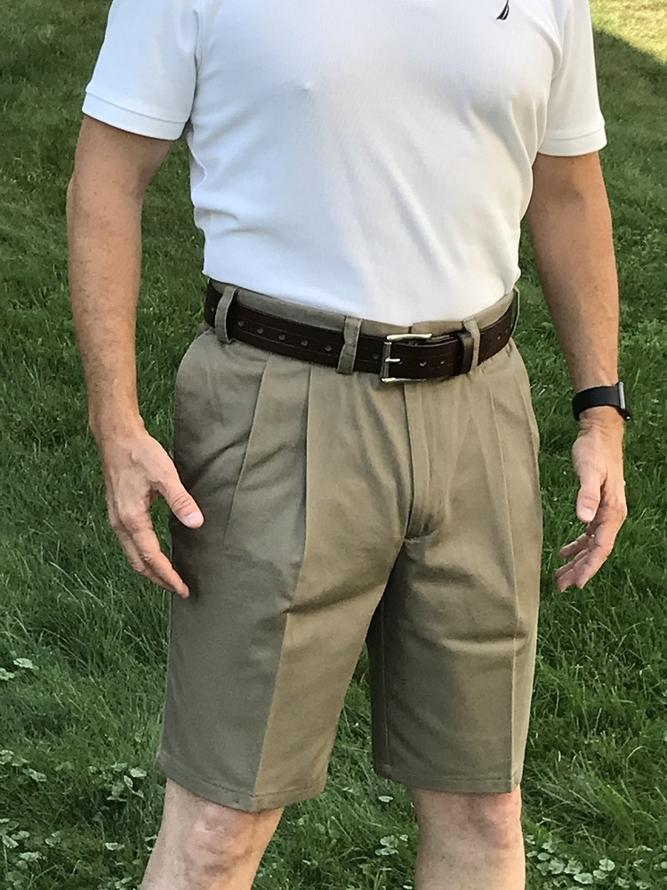 Tan Concealed Carry Khaki Shorts