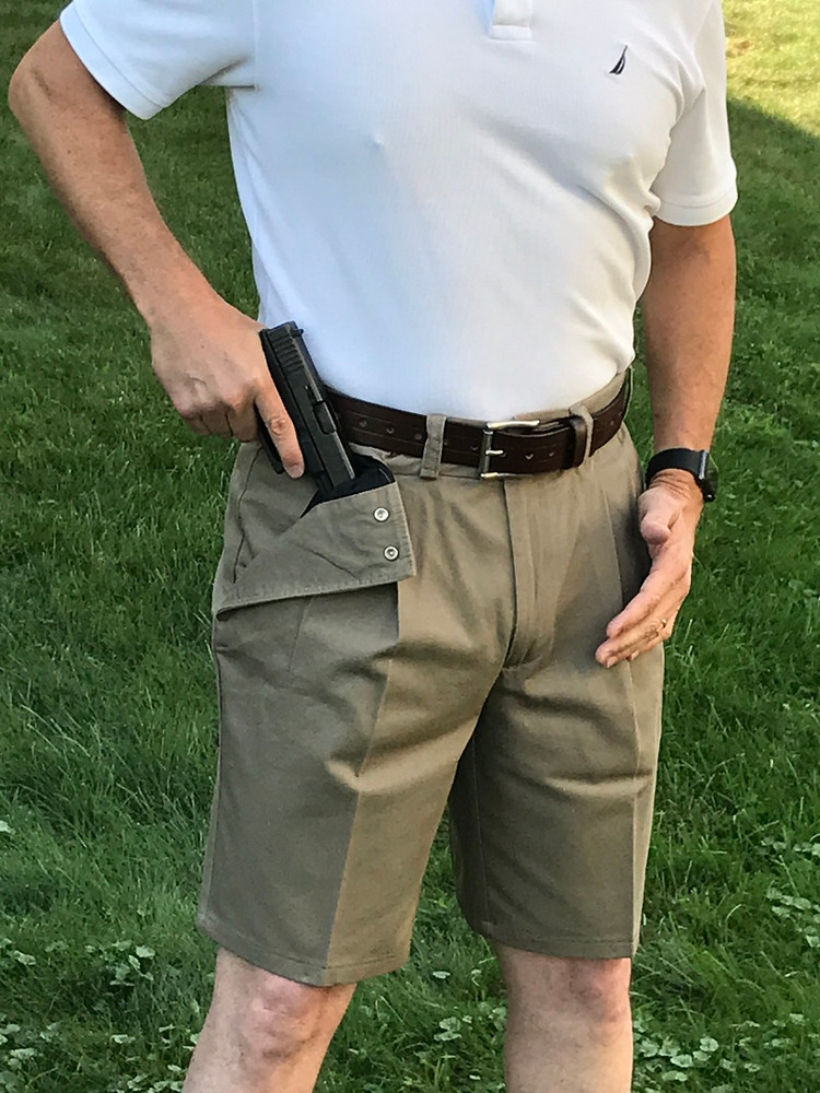 Tan Khaki Shorts