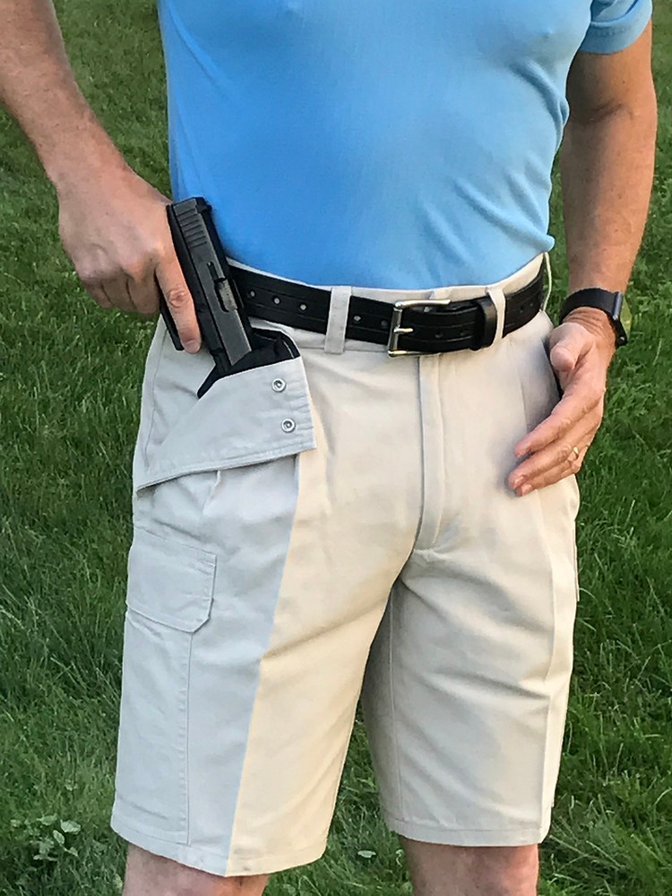 Stone Concealed Carry Cargo Shorts
