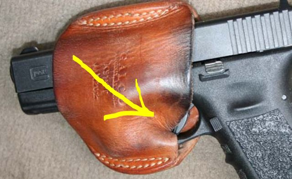 Preventing Accidental Discharges By Looking Into The Holster