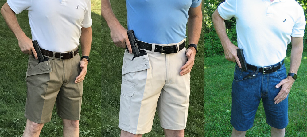 Concealed Carry Shorts are Perfect for Summertime Comfort
