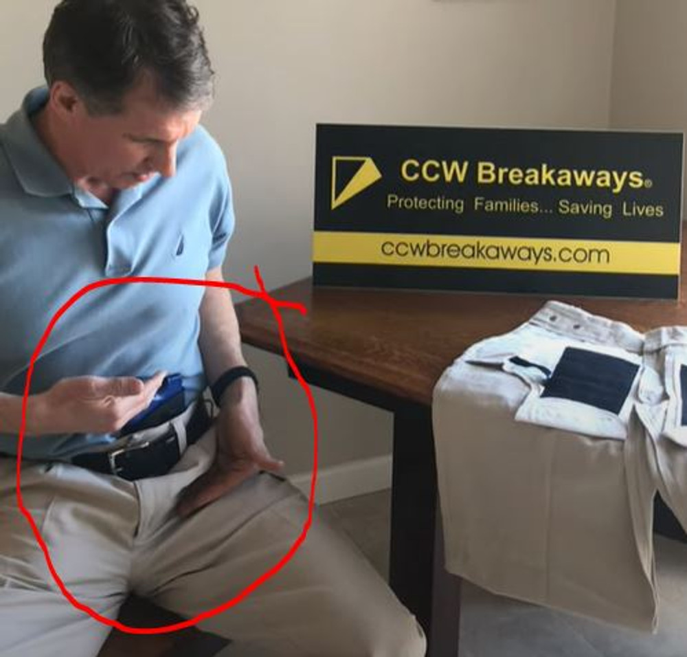 Concealed Carry Alternative to Uncomfortable Appendix Carry Holsters