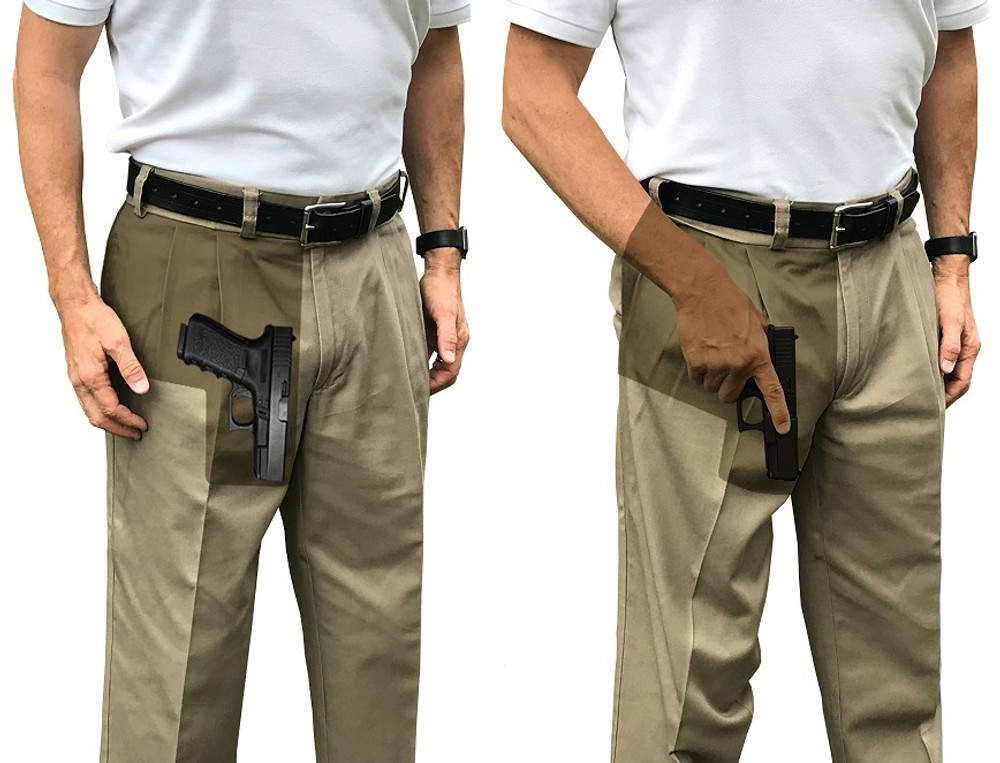 Are Gun Safeties and Pocket Holsters Really Needed when I Carry a Gun in My Pocket ? What About Muzzling?