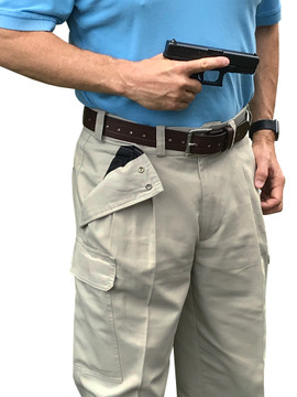 """With HOLES-ALL-THE-WAY-AROUND the belt, you can strip off your belt and use it for the following: temporary strap or banding instead of rope, duct tape, or tie wraps temporary emergency medical tool for tourniquet or direct pressure on wounds temporary sling temporary drag for injured person temporary restraint And when you're using this belt to """"just hold up your pants,"""" you'll look pretty darn fashionable."""