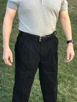 CCW Breakaways BLACK Cargos Glock 19 Concealed in 34 Waist Regular Daylight