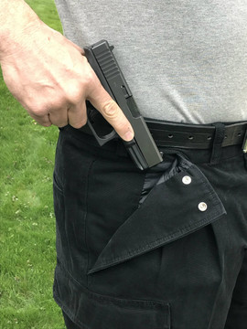CCW Breakaways BLACK Cargo Shorts