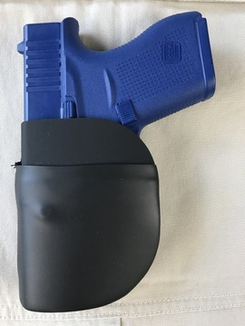 CCW Breakaways SkinTight Holster, Left Hand View, A Tight Fitting Pocket Holster