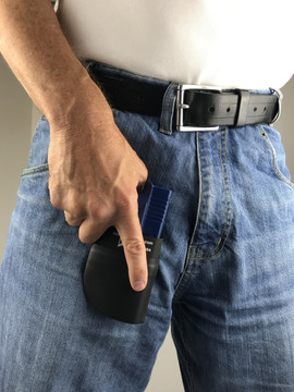 CCW Breakaways SkinTight Holster, Impenetrable Pocket Holster, No Accidental Discharge