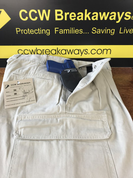CCW Breakaways, The Perfect Concealed Carry System, Concealed Carry Clothing with SkinTight Pocket Holster
