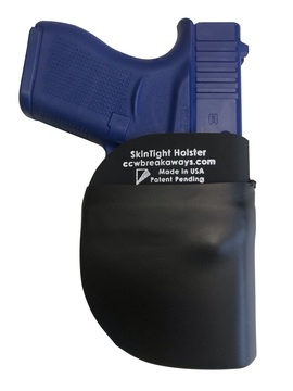CCW Breakaways SkinTight Pocket Holster. Super-Skinny-Super-Thin. Not Thick and Bulky. Eliminate Accidental Discharges. Eliminate Negligent Discharges. Hard Kydex Core. Soft-To-Touch Outer Skin.