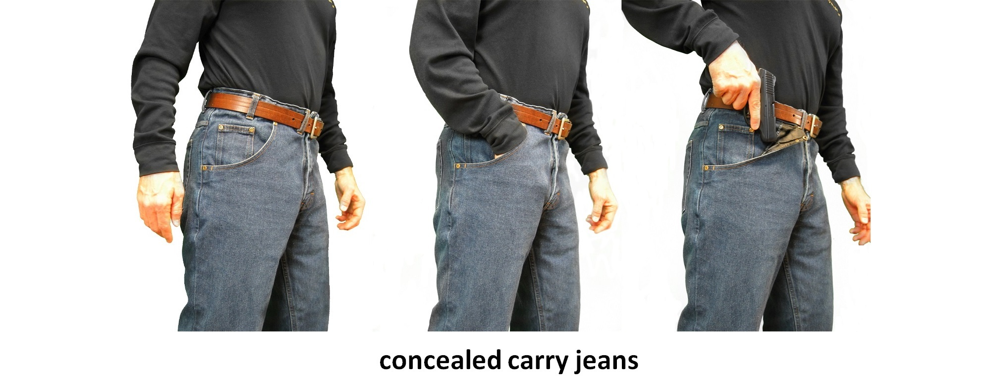 CCW Breakaways Concealed Carry Jeans