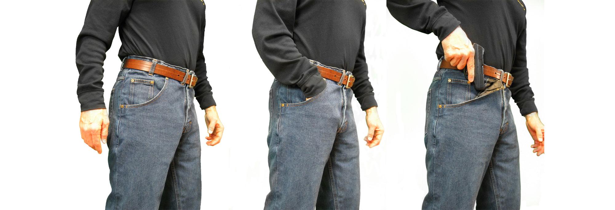 CCW Breakaways Denim Jeans