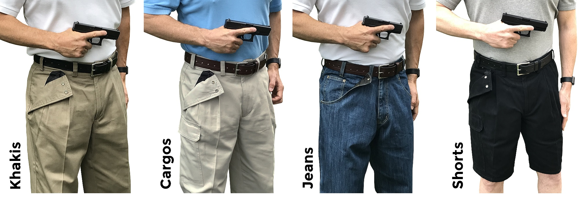 CCW Breakaways Concealed Carry Clothing