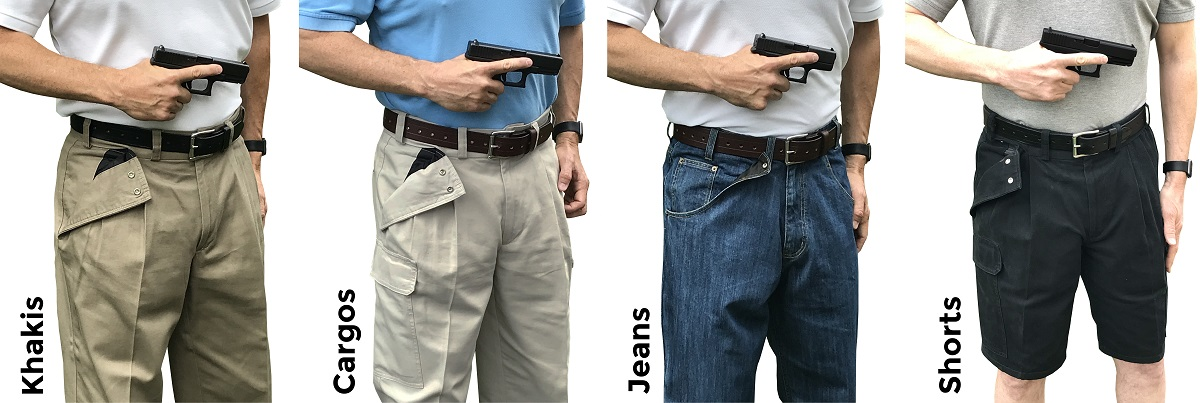 CCW Breakaway Concealed Carry Clothing Company