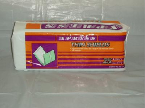"XPRESS Thin Shield Liners 3.5""x12"""