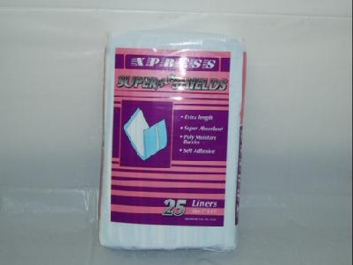 "XPRESS Super Plus Shield Liners 5""x15"""