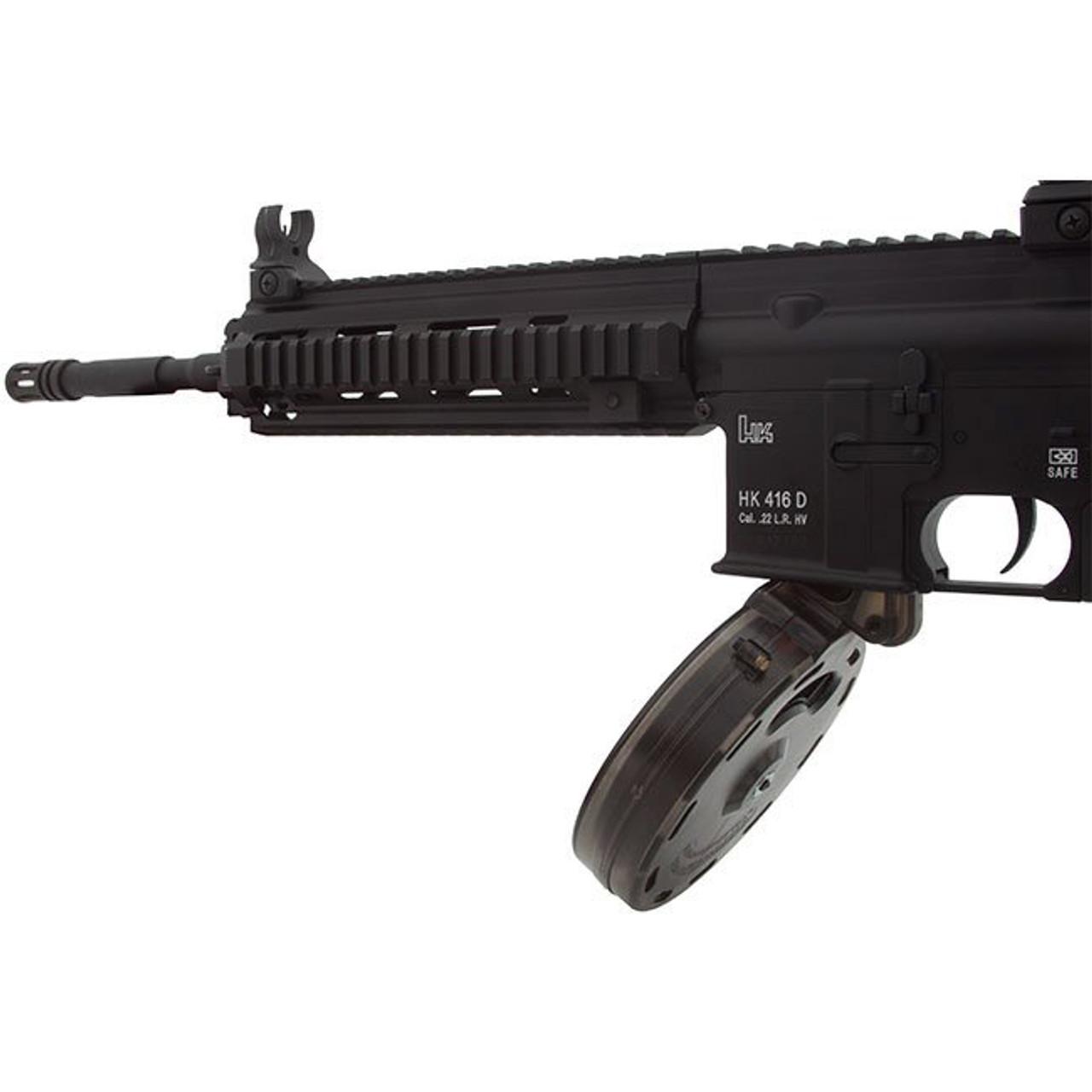 Black Dog 50 round  22LR drum magazine for HK416 G36 M4 M16 ARX160