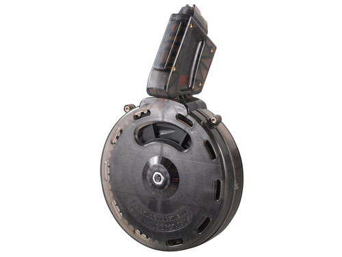 Black Dog 50 round .22LR drum magazine (AR15 .22 fit)