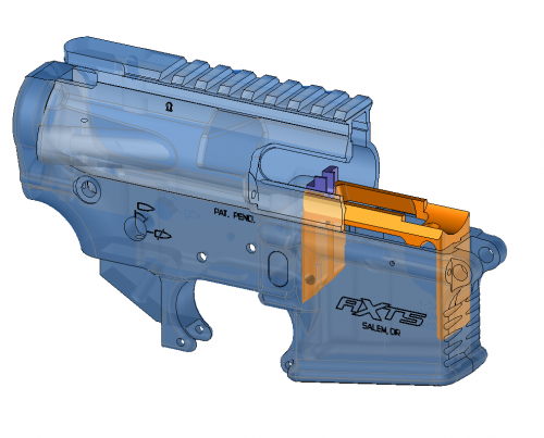 Better-Mag S&W .22 Rimfire Magazine Adaptor for AR15 .22