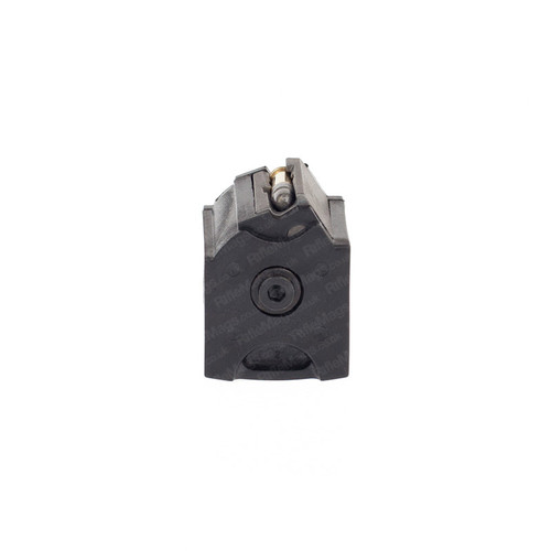 The Ruger BX-1 10 round 10 shot .22LR rotary magazine for Ruger 10/22 and 96/22 rifles in black.