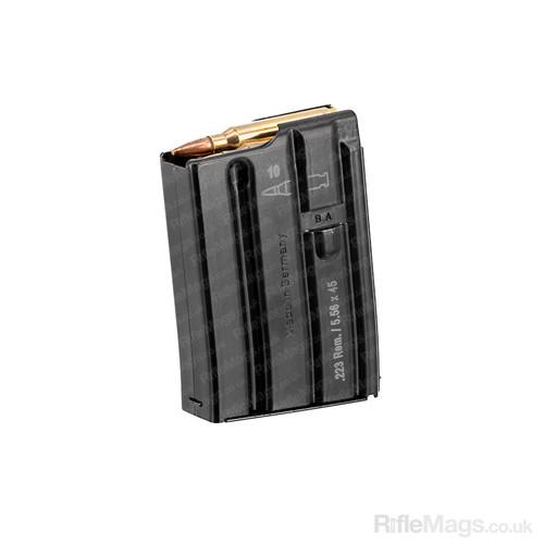 H&K HK416 AR15 10 round steel 223 Rem 5.56mm magazine