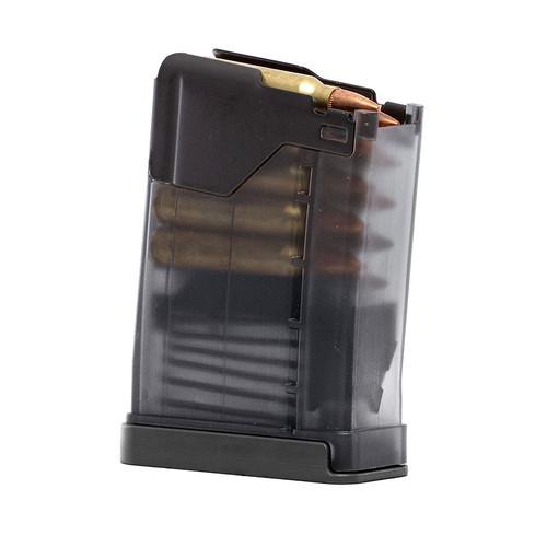 Lancer Systems L5AWM 10 round magazine .223 5.56x45mm (steel lips) smoke
