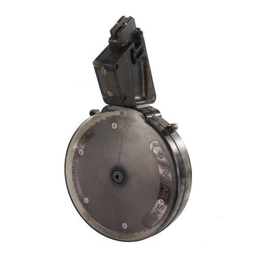Black Dog 50 round .22LR drum magazine for HK416 G36 M4 M16 ARX160