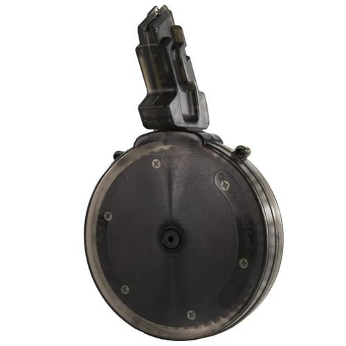 Black Dog 50 round .22LR drum magazine for HK MP5 (Walther)