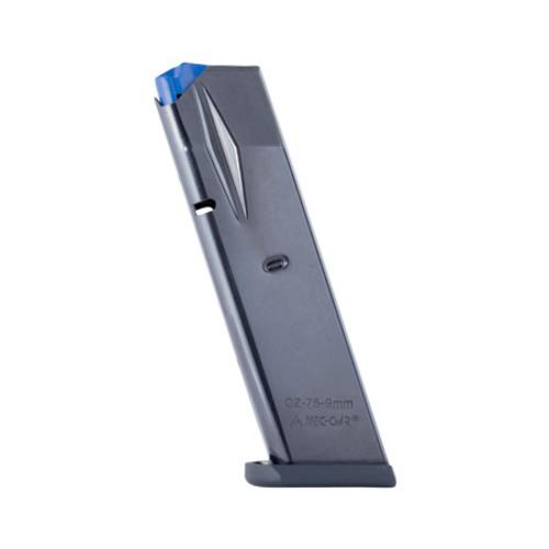 CZ 75B, 85B, SP-01, Shadow, Shadow 2 10 round 9mm magazine - Flush Fit (MGCZ7510B)