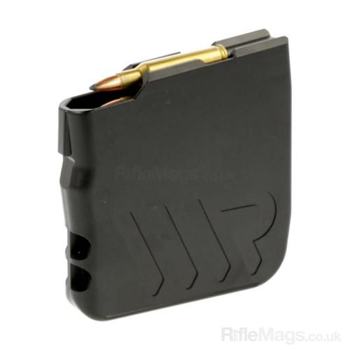 """WR (Waters Rifleman) Tikka T3 T3x & Lithgow LA102 fit 10 round aluminium .223 .222 magazine (2.4"""" medium)"""