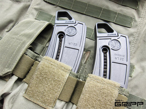Smith & Wesson M&P 15-22 GRIPP mag tabs baseplates
