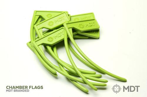 MDT Chamber Flag - Green - 10 pack