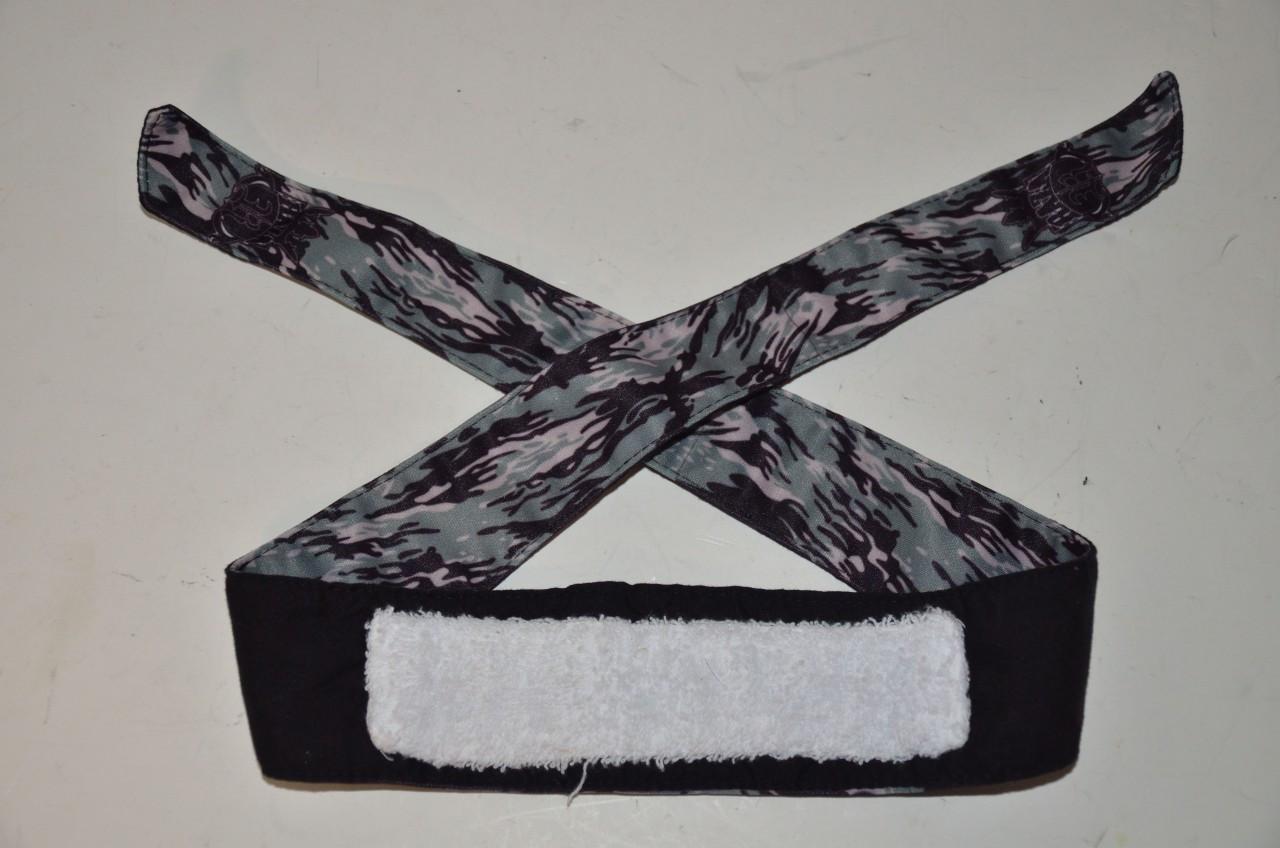 Raza Dark Camo Headband