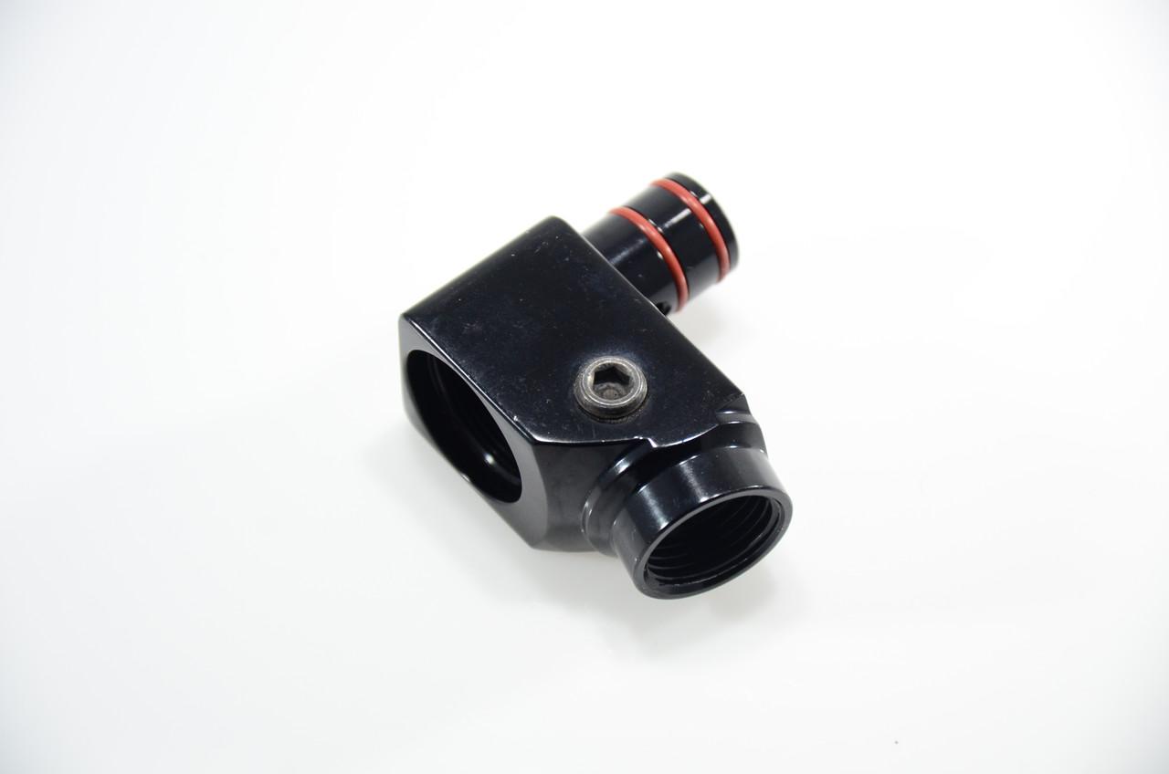 Bob Long Intimidator - 2k2 Angled Front Block - Gloss Black