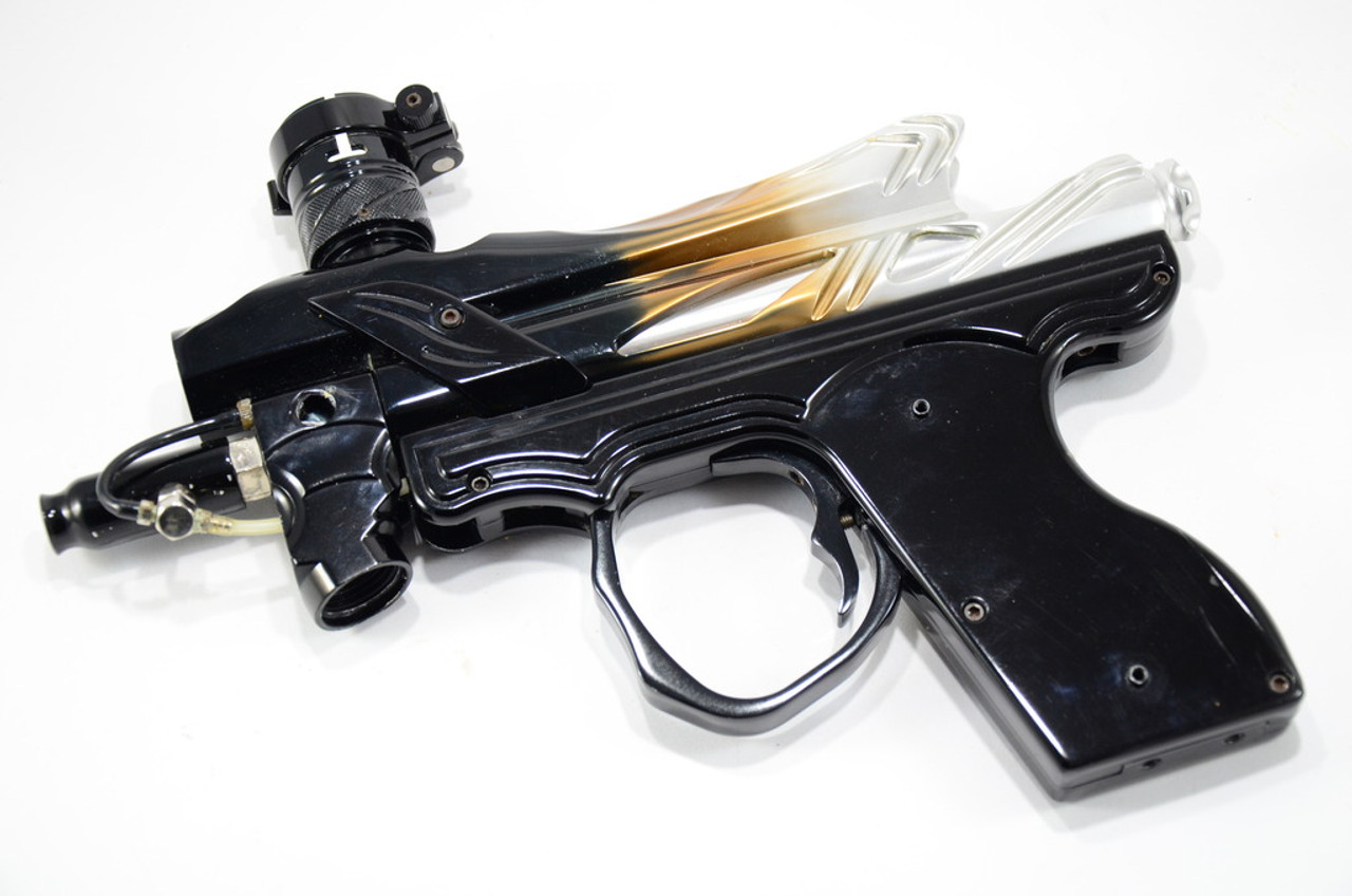 Bob Long Intimidator - 2k2 AIM Body Kit - Gloss Black/Gold/Silver Fade