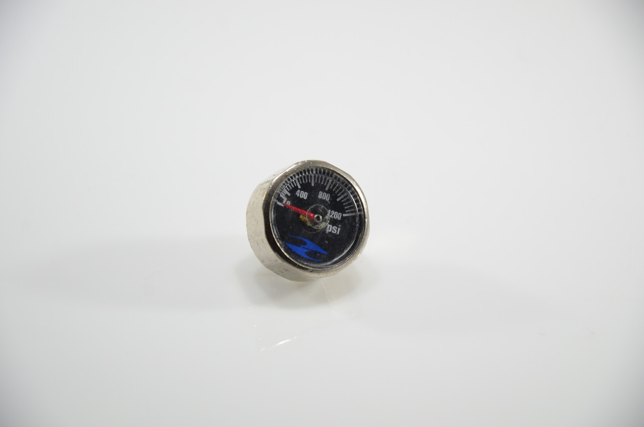 32 Degrees 0-1200 Psi Gauge - Black
