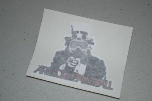 "ArmoryPaintball.com ""Uncle Sam"" Sticker"