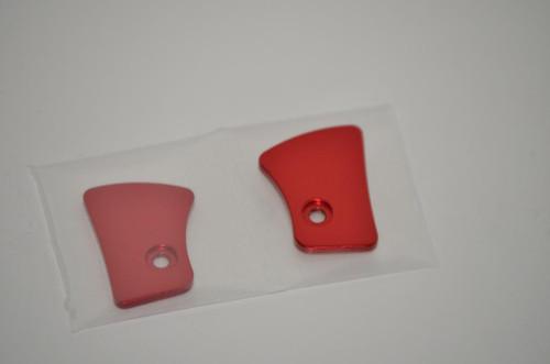 Bob Long Marq - Marq Closer Eye Covers - Gloss Red