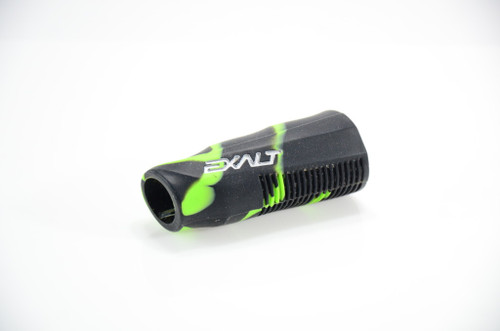 DLX Luxe - Exalt Reg Grip - Green/Black Splash