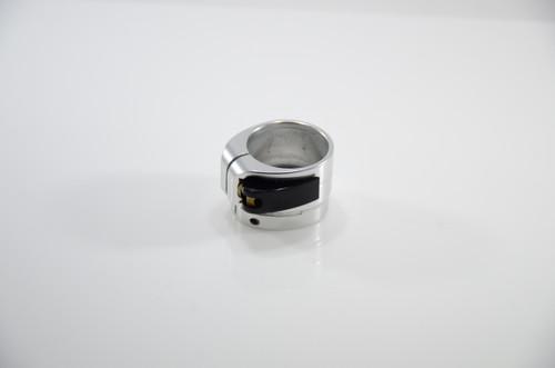Bob Long - Lever Lock Clamping Feedneck - Gloss Silver #2