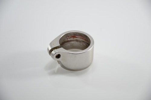 Dye Matrix - Lockdown Clamping Feedneck Collar - Silver