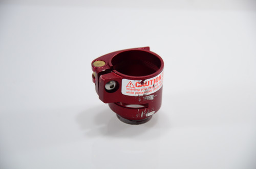 Empire Axe - Stock Clamping Feedneck - Red