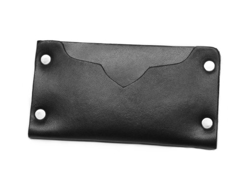 Sleek and refined cardholder, hammer riveted full grain leather, by American Bench Craft