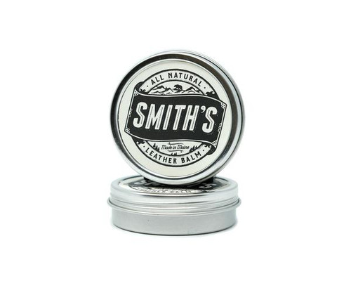 Smiths Leather Balm, all natural leather, leather care, extend life of leather, leather protector