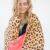 Sassy Leopard - (Coral)