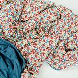 Adult swaddle blanket Ditsy Floral