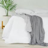 Cloud bed blanket twin full queen king california king gray