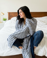 How cozy is a Pipermoon adult swaddle blanket?