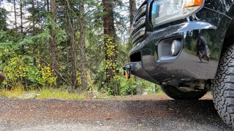 Canyon Winch Bumper