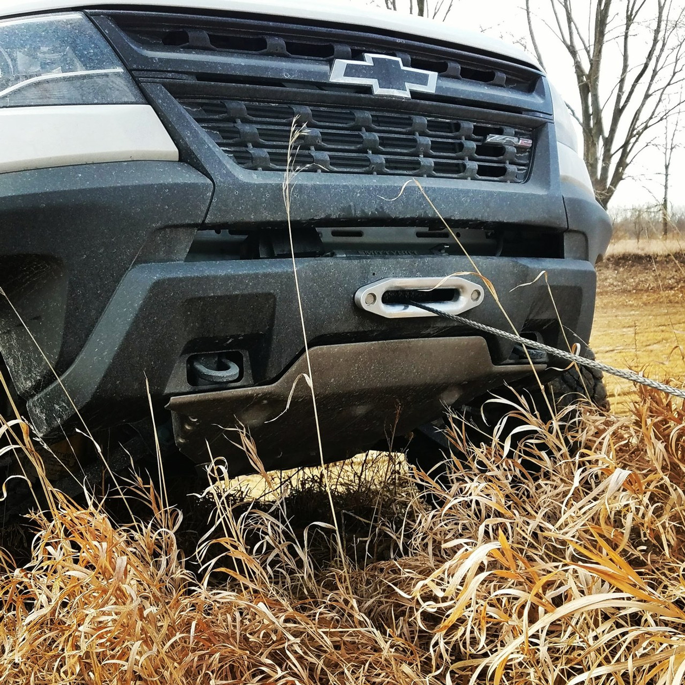 ZR2 Winch Mount